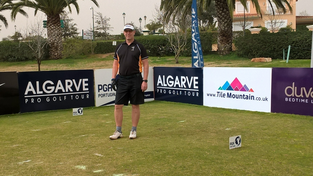 Robbie van West, Robbie van West, die KUHN Maßkonfektion Open 2019, Golfsport.News